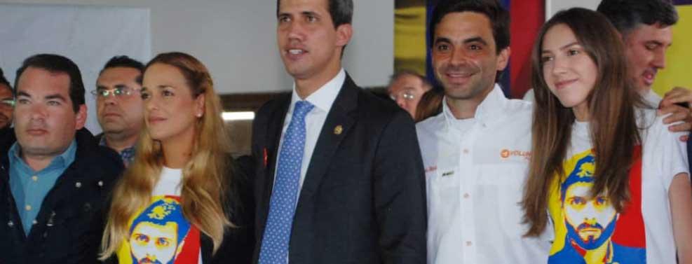 Presidente (E) Juan Guaidó: Leopoldo, este sacrificio no fue y no será en vano, porque estamos más cerca de la libertad.