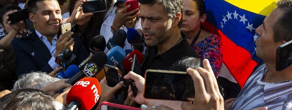 LEOPOLDO LÓPEZ: SIEMPRE HE ESTADO, SIGO Y SEGUIRÉ EN VENEZUELA