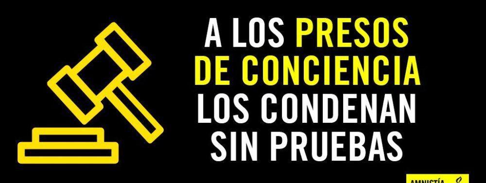 Amnistía Internacional promueve campaña sobre el preso de conciencia Leopoldo López