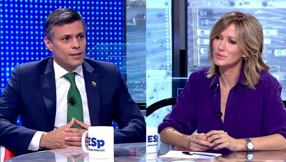Antena 3   Susana Griso entrevista a Leopoldo