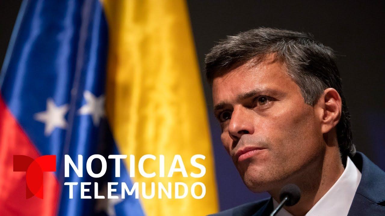Noticias Telemundo | Leopoldo López se opone a las elecciones legislativas a realizarse el próximo diciembre en Venezuela