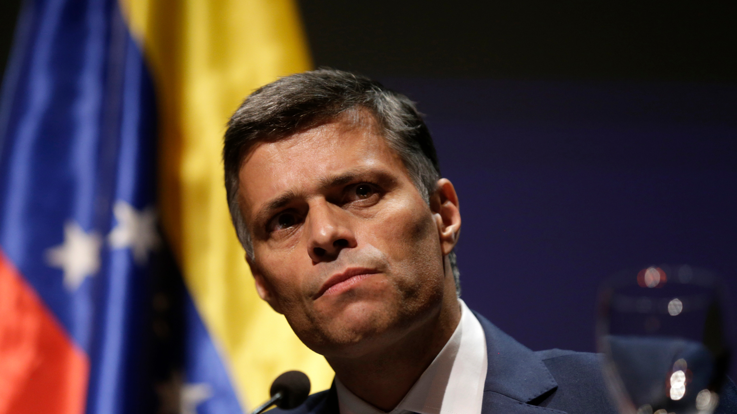 "Press Release | Leopoldo López challenges Maduro: ""Let's go together to any International Court to see who gets jailed""."