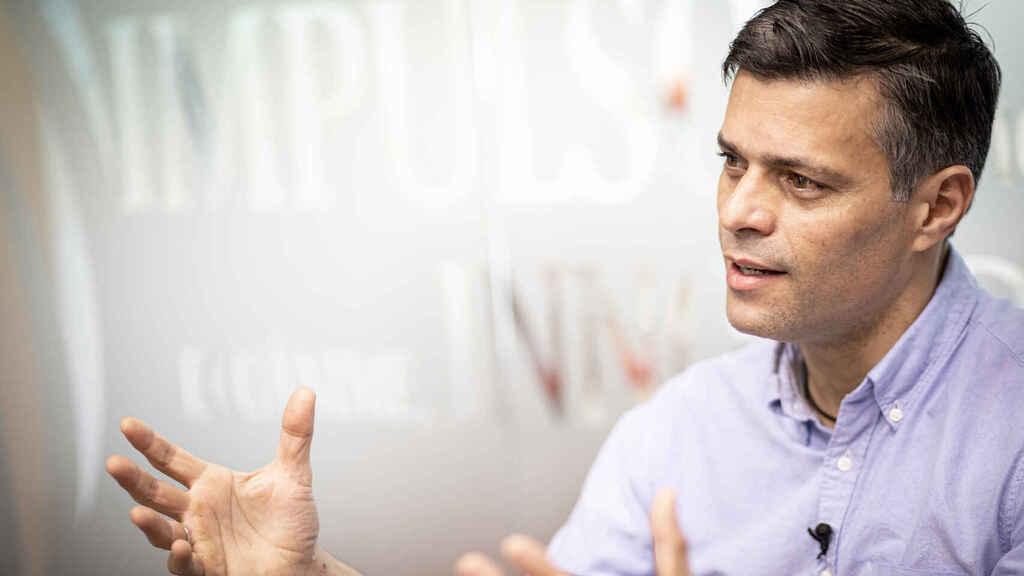 """El Español    Leopoldo López: """"Sánchez me dijo que apoya las sanciones pero en España hay criminales de Maduro"""""""