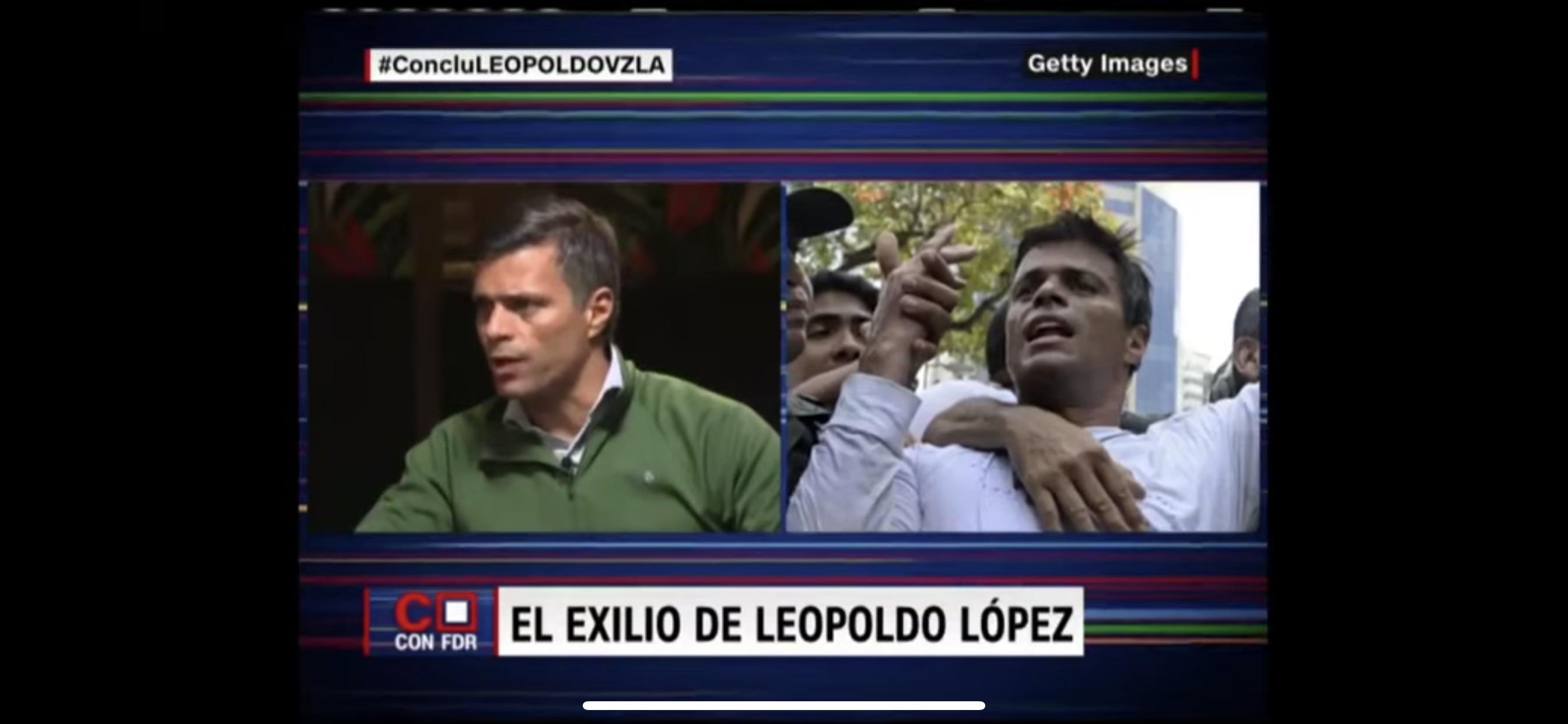 Fernando del Rincón entrevista a Leopoldo López